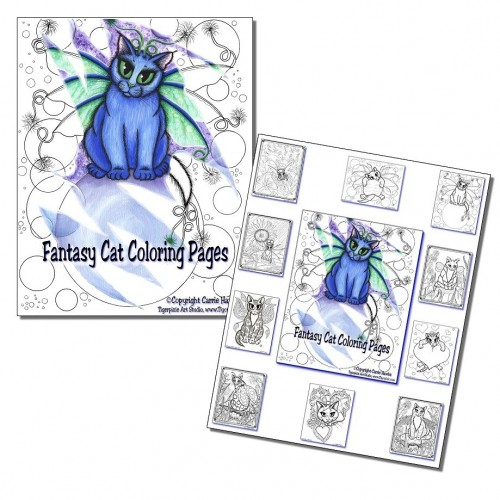 Coloring Page Gift Set 1 -10 pages