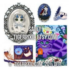 Tigerpixie Update! 20% Off Christmas In July Sale!