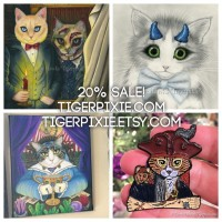 Tigerpixie Update! Happy New Year Sale! 78 Tarot Announcement, Awesome Patreon Changes