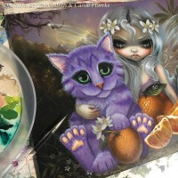 Tigerpixie Update! Spring Sale New Art! Orange Blossoms, Patreon Giveaway