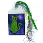 Bookmark - Alien Cat