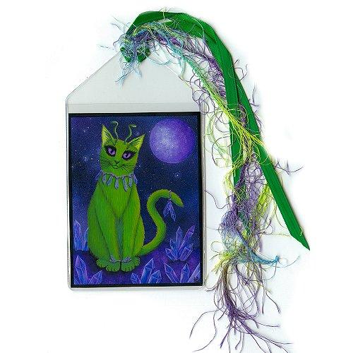 Bookmark - Alien Cat