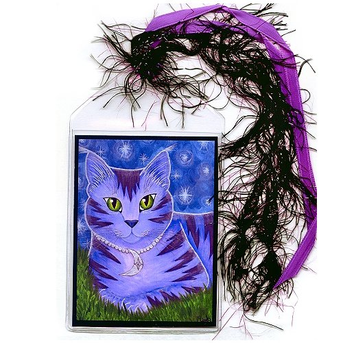 Bookmark - Astra Moon Cat