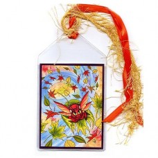 Bookmark - Autumn Winds Fairy Cat
