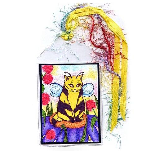 Bookmark - Buzz Bumble Bee Cat