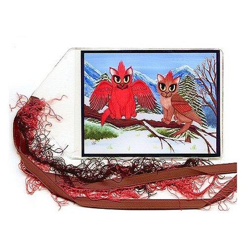 Bookmark - Cardinal Cats