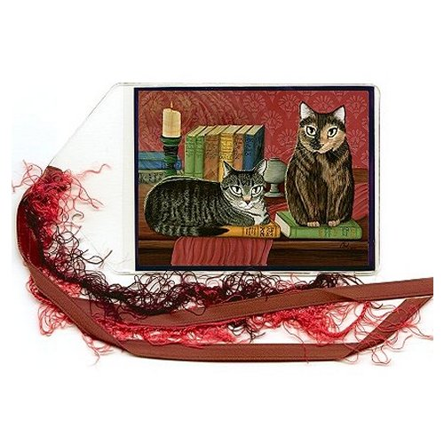 Bookmark - Classic Literary Cats