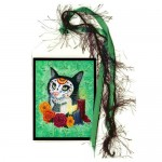 Bookmark - Day of the Dead Cat Candles