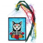 Bookmark - Day of the Dead Cat
