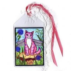Bookmark - Dea Dragonfly Cat