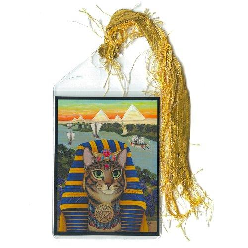 Bookmark - Egyptian Pharaoh Cat