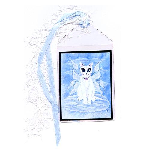 Bookmark - Elemental Air Fairy Cat