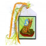 Bookmark - Elemental Earth Fairy Cat