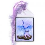 Bookmark - Elemental Water Mermaid Cat