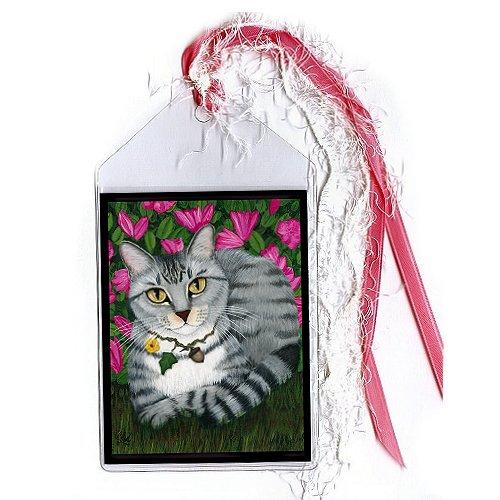 Bookmark - Garden Cat