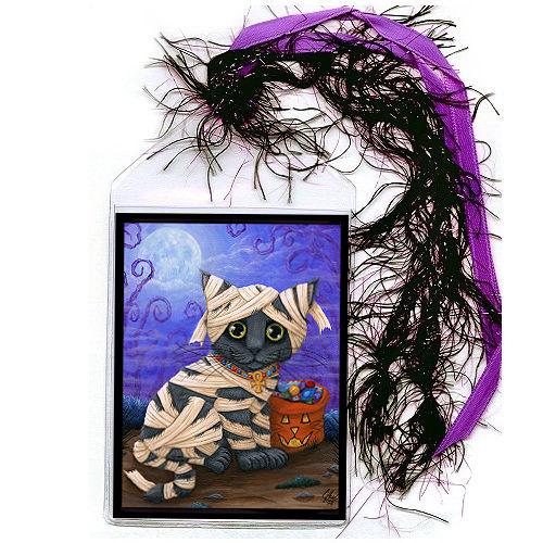 Bookmark - Lil Mummy Kitten