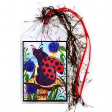 Bookmark - Logan Ladybug Cat