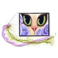 Bookmark - Lavender Roses