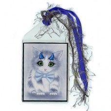 Bookmark - Little Blue Horns