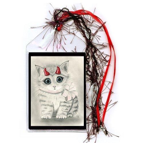 Bookmark - Little Red Horns