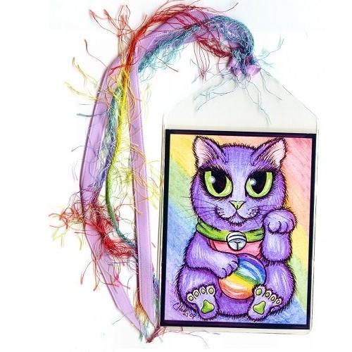 Bookmark - Maneki Neko Creativity Cat