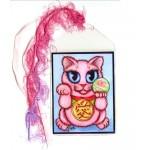Bookmark - Maneki Neko Love Cat