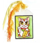 Bookmark - Maneki Neko Luck Cat