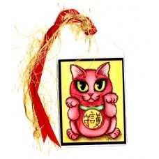 Bookmark - Maneki Neko Protection Cat