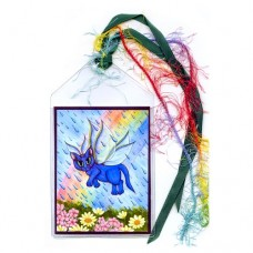Bookmark - Spring Showers Fairy Cat