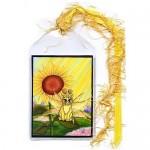 Bookmark - Summer Sunshine Fairy Cat