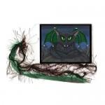 Bookmark - Bela Vampire Cat