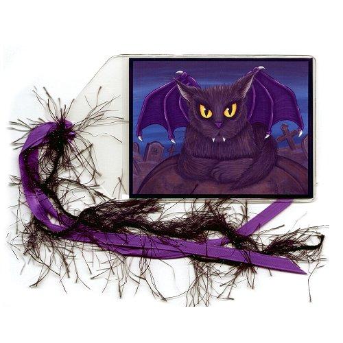 Bookmark - Vlad Vampire Cat