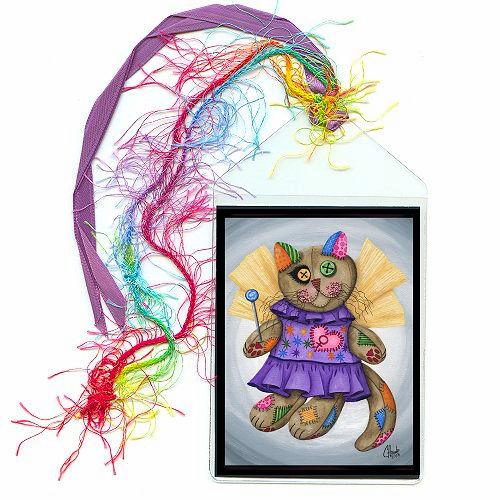 Bookmark - Voodoo Empress Fairy Cat Doll