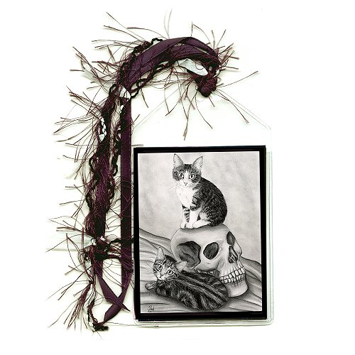 Bookmark - Witch's Kittens