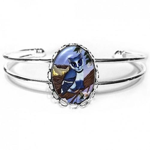 Cuff Bracelet - Blue Jay Kittens