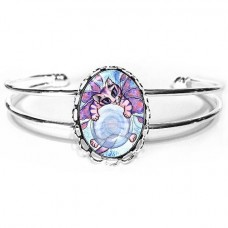 Cuff Bracelet - Bubble Fairy Kitten