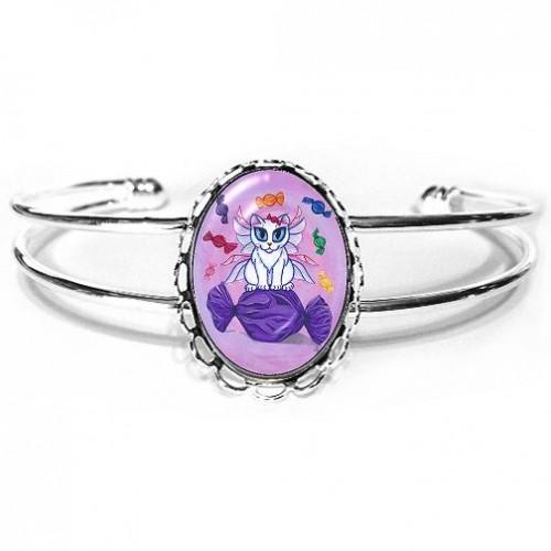 Cuff Bracelet - Candy Fairy Cat, Hard Candy