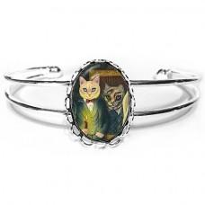 Cuff Bracelet - Dorian Gray