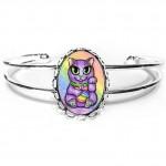 Cuff Bracelet - Maneki Neko Creativity Cat