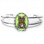 Cuff Bracelet - Maneki Neko Health Cat