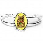 Cuff Bracelet - Maneki Neko Wealth Cat
