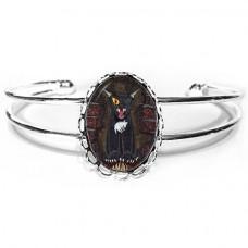 Cuff Bracelet - The Black Cat