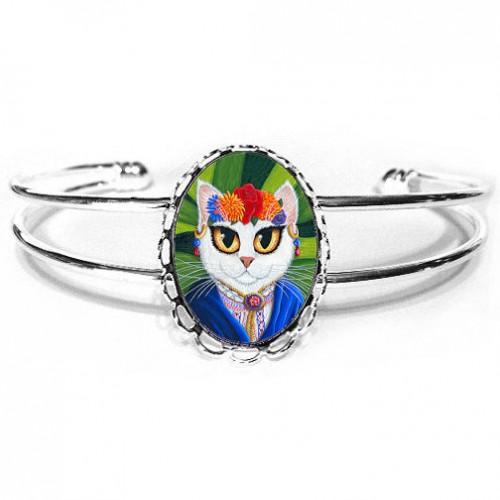 Cuff Bracelet - Senorita Cat