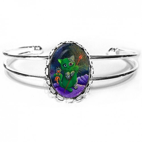 Cuff Bracelet - Cy and Sal Space Explorers