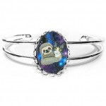 Cuff Bracelet - Trixie and Her Sloth Friend