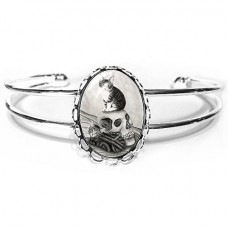 Cuff Bracelet - Witch's Kittens