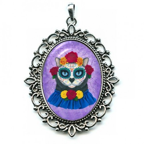 Cameo - Day of the Dead Cat Gal