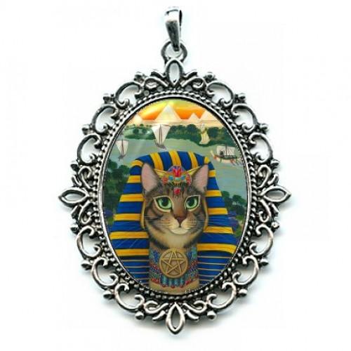 Cameo - Egyptian Pharaoh Cat