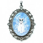 Cameo - Elemental Air Fairy Cat