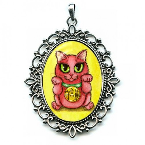 Cameo - Maneki Neko Protection Cat
